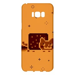 Nyan Cat Vintage Samsung Galaxy S8 Plus Hardshell Case  by Onesevenart