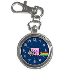Nyan Cat Key Chain Watches by Onesevenart