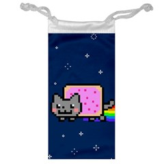 Nyan Cat Jewelry Bag by Onesevenart