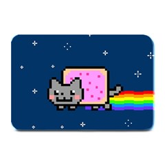 Nyan Cat Plate Mats by Onesevenart