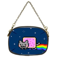 Nyan Cat Chain Purses (two Sides)  by Onesevenart