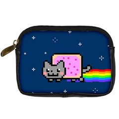 Nyan Cat Digital Camera Cases by Onesevenart
