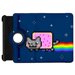 Nyan Cat Kindle Fire Hd 7  by Onesevenart