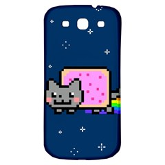 Nyan Cat Samsung Galaxy S3 S Iii Classic Hardshell Back Case by Onesevenart