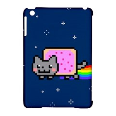 Nyan Cat Apple Ipad Mini Hardshell Case (compatible With Smart Cover) by Onesevenart