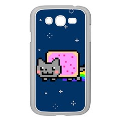 Nyan Cat Samsung Galaxy Grand Duos I9082 Case (white) by Onesevenart