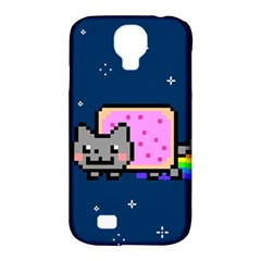 Nyan Cat Samsung Galaxy S4 Classic Hardshell Case (pc+silicone) by Onesevenart