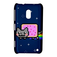 Nyan Cat Nokia Lumia 620 by Onesevenart