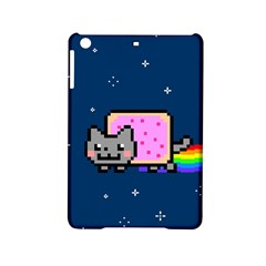 Nyan Cat Ipad Mini 2 Hardshell Cases by Onesevenart