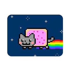 Nyan Cat Double Sided Flano Blanket (mini)  by Onesevenart