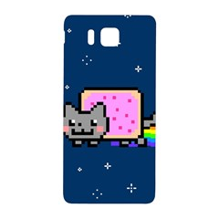 Nyan Cat Samsung Galaxy Alpha Hardshell Back Case by Onesevenart