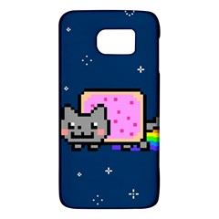 Nyan Cat Galaxy S6 by Onesevenart