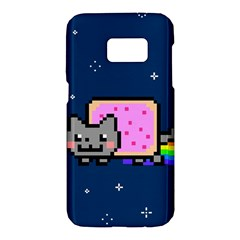 Nyan Cat Samsung Galaxy S7 Hardshell Case  by Onesevenart