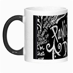 Panic ! At The Disco Lyric Quotes Morph Mugs by Onesevenart