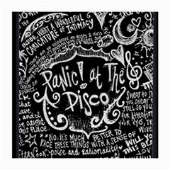Panic ! At The Disco Lyric Quotes Medium Glasses Cloth (2 Side) by Onesevenart
