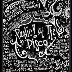 Panic ! At The Disco Lyric Quotes Magic Photo Cubes by Onesevenart
