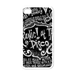 Panic ! At The Disco Lyric Quotes Apple Iphone 4 Case (white) by Onesevenart
