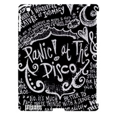 Panic ! At The Disco Lyric Quotes Apple Ipad 3/4 Hardshell Case (compatible With Smart Cover) by Onesevenart