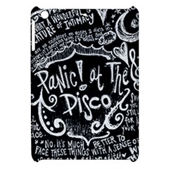 Panic ! At The Disco Lyric Quotes Apple Ipad Mini Hardshell Case by Onesevenart
