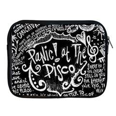 Panic ! At The Disco Lyric Quotes Apple Ipad 2/3/4 Zipper Cases by Onesevenart