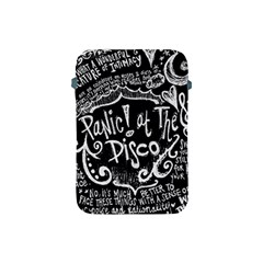 Panic ! At The Disco Lyric Quotes Apple Ipad Mini Protective Soft Cases by Onesevenart