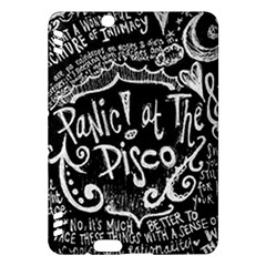 Panic ! At The Disco Lyric Quotes Kindle Fire Hdx Hardshell Case by Onesevenart