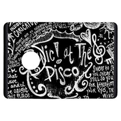 Panic ! At The Disco Lyric Quotes Kindle Fire Hdx Flip 360 Case by Onesevenart