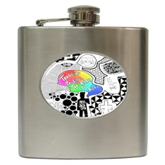Panic ! At The Disco Hip Flask (6 Oz) by Onesevenart