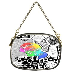 Panic ! At The Disco Chain Purses (one Side)  by Onesevenart