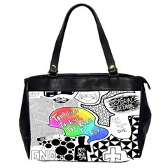 Panic ! At The Disco Office Handbags (2 Sides)  by Onesevenart