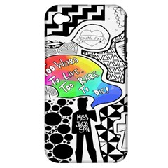 Panic ! At The Disco Apple Iphone 4/4s Hardshell Case (pc+silicone) by Onesevenart