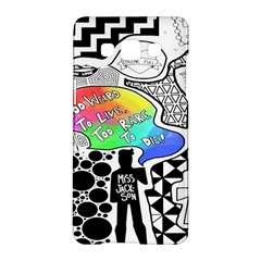 Panic ! At The Disco Samsung Galaxy A5 Hardshell Case  by Onesevenart