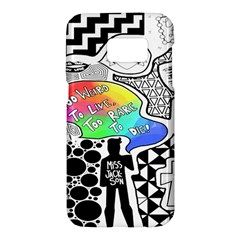 Panic ! At The Disco Samsung Galaxy S7 Hardshell Case  by Onesevenart