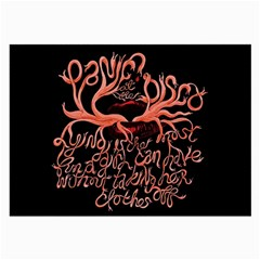 Panic At The Disco   Lying Is The Most Fun A Girl Have Without Taking Her Clothes Large Glasses Cloth (2 Side) by Onesevenart