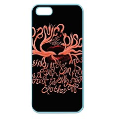 Panic At The Disco   Lying Is The Most Fun A Girl Have Without Taking Her Clothes Apple Seamless Iphone 5 Case (color) by Onesevenart