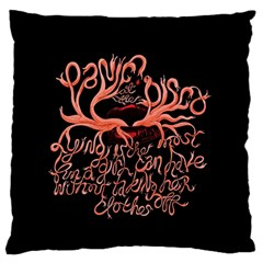 Panic At The Disco   Lying Is The Most Fun A Girl Have Without Taking Her Clothes Standard Flano Cushion Case (one Side) by Onesevenart