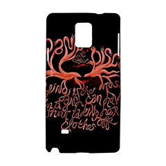 Panic At The Disco   Lying Is The Most Fun A Girl Have Without Taking Her Clothes Samsung Galaxy Note 4 Hardshell Case by Onesevenart