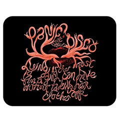 Panic At The Disco   Lying Is The Most Fun A Girl Have Without Taking Her Clothes Double Sided Flano Blanket (medium)  by Onesevenart