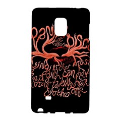 Panic At The Disco   Lying Is The Most Fun A Girl Have Without Taking Her Clothes Galaxy Note Edge by Onesevenart