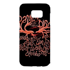 Panic At The Disco   Lying Is The Most Fun A Girl Have Without Taking Her Clothes Samsung Galaxy S7 Edge Hardshell Case by Onesevenart