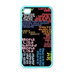 Panic At The Disco Northern Downpour Lyrics Metrolyrics Apple Iphone 4 Case (color) by Onesevenart