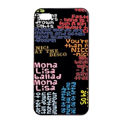 Panic At The Disco Northern Downpour Lyrics Metrolyrics Apple Iphone 4/4s Seamless Case (black) by Onesevenart