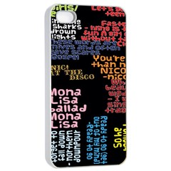 Panic At The Disco Northern Downpour Lyrics Metrolyrics Apple Iphone 4/4s Seamless Case (white) by Onesevenart