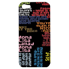 Panic At The Disco Northern Downpour Lyrics Metrolyrics Apple Iphone 5 Hardshell Case by Onesevenart