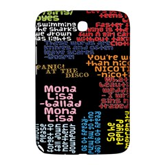 Panic At The Disco Northern Downpour Lyrics Metrolyrics Samsung Galaxy Note 8 0 N5100 Hardshell Case  by Onesevenart