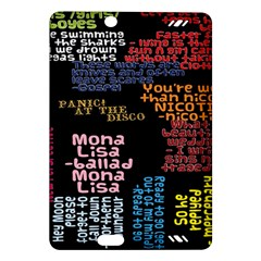 Panic At The Disco Northern Downpour Lyrics Metrolyrics Amazon Kindle Fire Hd (2013) Hardshell Case by Onesevenart