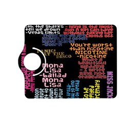 Panic At The Disco Northern Downpour Lyrics Metrolyrics Kindle Fire Hd (2013) Flip 360 Case by Onesevenart