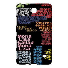 Panic At The Disco Northern Downpour Lyrics Metrolyrics Samsung Galaxy Tab 4 (8 ) Hardshell Case  by Onesevenart