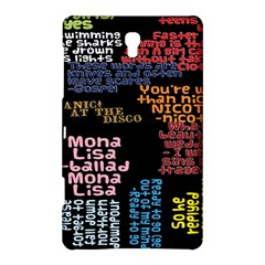 Panic At The Disco Northern Downpour Lyrics Metrolyrics Samsung Galaxy Tab S (8 4 ) Hardshell Case  by Onesevenart