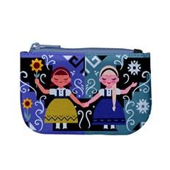 Sisters Coin Change Purse